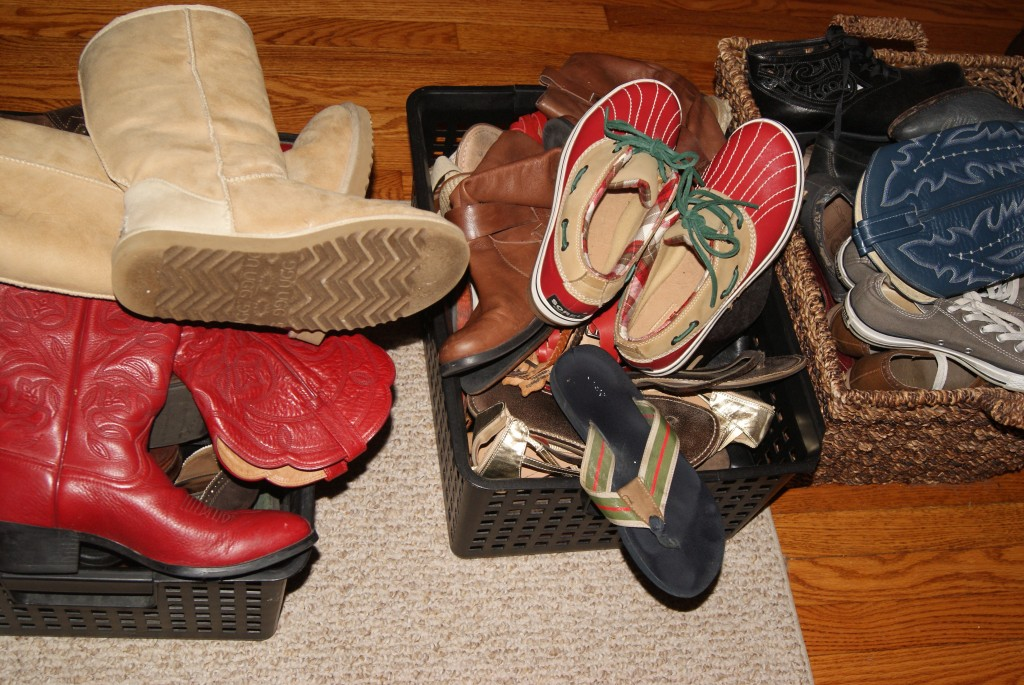 """""""Imelda - I mean Roo - have you any shoes? Yes, three baskets full, it seems that I do..."""""""
